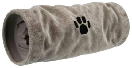 Тоннель для кошек TRIXIE Playing Tunnel, серый 22х22x60 см