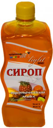 Сироп Черное море тропик light  1 л