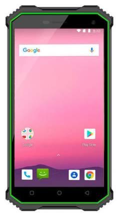 Смартфон Ginzzu RS8502 32Gb Black/Green