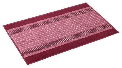 Коврик текстильный Vortex Madrid бордовый 50x80 см