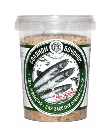 Соль Соляной бочонок для засолки сельди 450 г