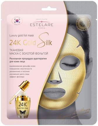 Маска для лица Estelare 24К Gold Silk 25 г