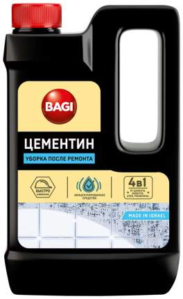 Средство для уборки после ремонта 4в1 Bagi концентрат 500 мл