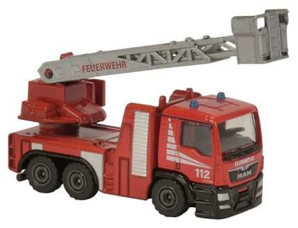 Игрушечный автомобиль Majorette SOS - Пожарная машина с подъемником 7.5 см в ассортименте