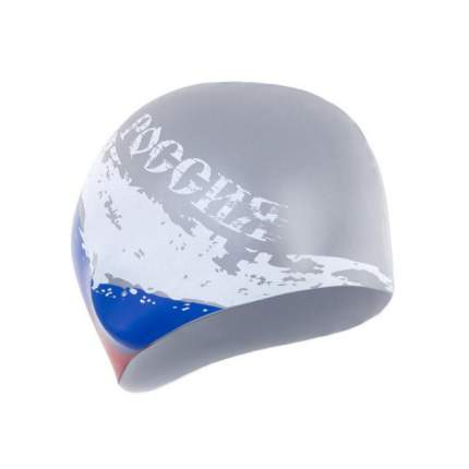 Шапочка для плавания Larsen Russia LS74 silver