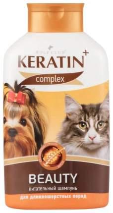 Шампунь-бальзам для собак RolfClub Keratin+Beauty для длинношерстных, кератин, 400 мл