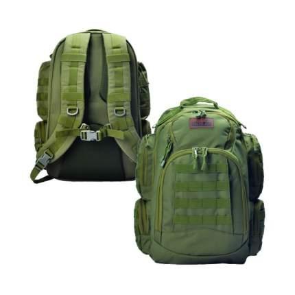 Туристический рюкзак Norfin Tactic NF 45 л зеленый