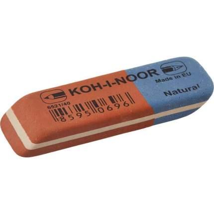 Ластик Koh-I-Noor 6521/40 каучук, 60х20х8 мм