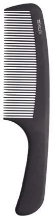 Расческа Dewal Super thin Широкая изогнутая 20,5 см Черный