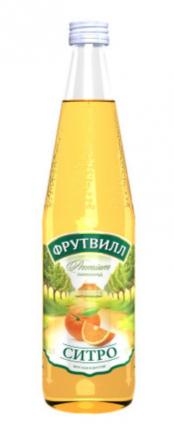 Лимонад Фрутвилл ситро 0.5 л 12 штук в упаковке