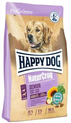 Сухой корм для собак Happy Dog NatureCroq Senior, для пожилых, мясо, 4кг