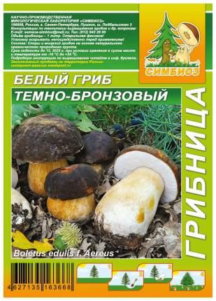 Мицелий грибов Грибница субстрат микоризный Белый гриб Темно-бронзовый, 1 л Симбиоз