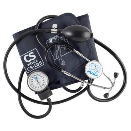 Тонометр CS Medica CS-105 механический на плечо с фонендоскопом