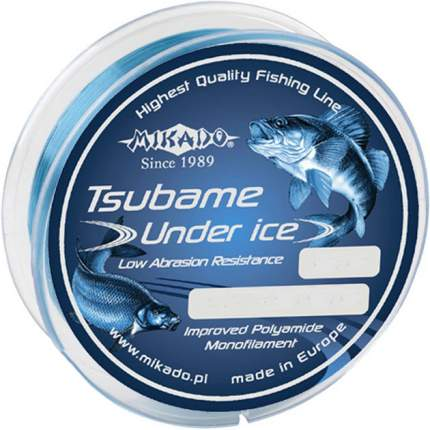 Леска монофильная Mikado Tsubame Under Ice 0,12 мм, 50 м, 2,4 кг