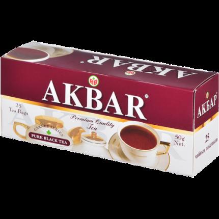 Чай черный Akbar гранатовая серия 25 пакетиков