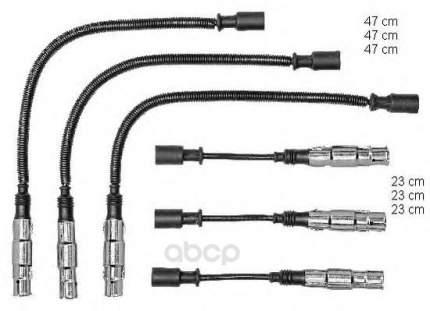 Высоковльтные провода комплект Beru ZEF1479
