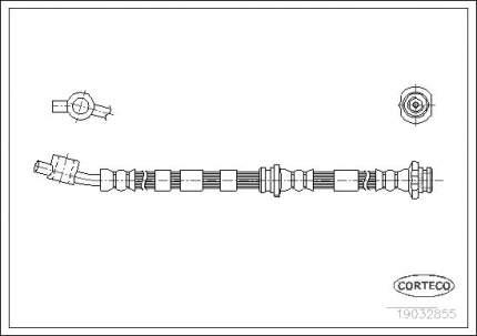 Шланг тормозной CORTECO 19032855