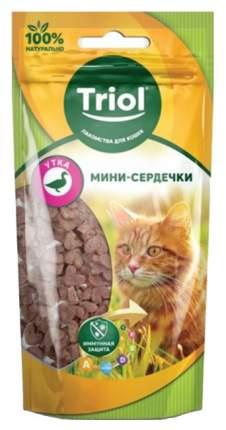 Лакомство для кошек Triol Мини-медальоны Утка 40 г
