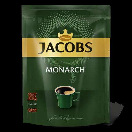 Растворимый кофе Jacobs monarch якобс монарх 240 г