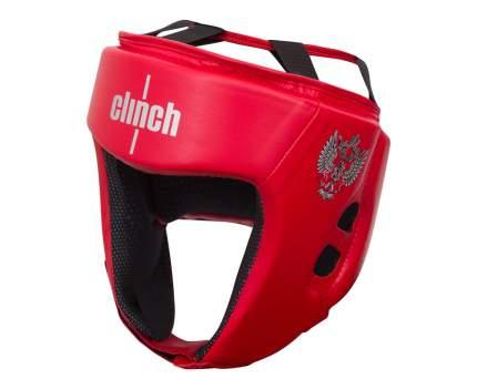 Шлем боксерский Clinch Olimp красный S