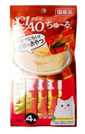 Лакомство Premium Pet Japan для кошек (56 г, Королевский краб и желтоперый тунец)