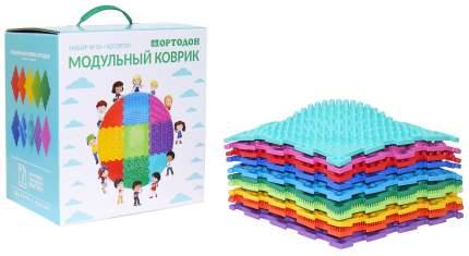 Модульный коврик ОРТОДОН Набор №10 Ассорти