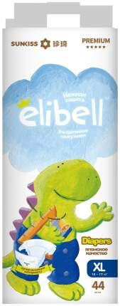 Подгузники Elibell Premium XL, 12-17 кг 44 шт