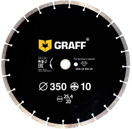 Диск отрезной алмазный Graff GDD 18 350.10