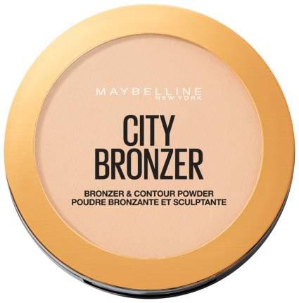 Пудра Maybelline Сity Bronzer & Contour Powder 100 Light Cool 8 г