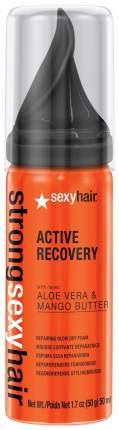 Мусс для волос Sexy Hair Strong Active Recovery Repairing Blow Dry Foam 50 мл