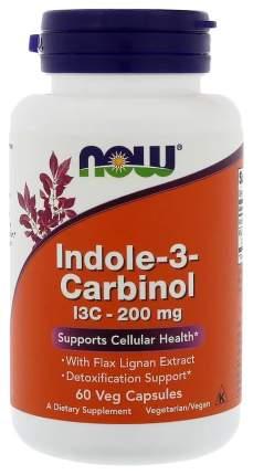 Антиоксидант NOW Indole-3-Carbinol 60 капс. натуральный