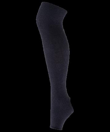 Гетры женские Amely GS-201, черные, 55 см