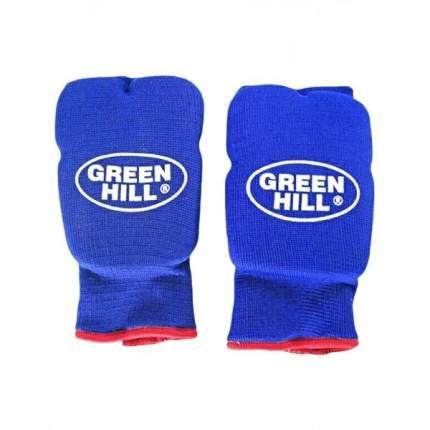 Накладки на кисть Green Hill эластик HP-6133, хлопок, синий (M)