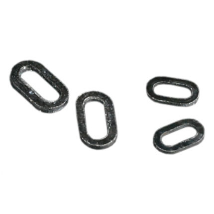 Заводное кольцо Mikado овальное 6 мм