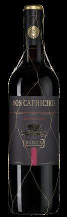 Вино Dos Caprichos Crianza, Bodegas Faustino, 2016 г.