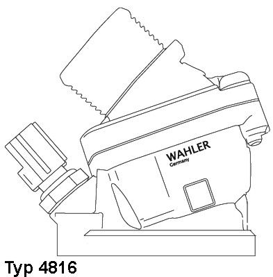 Термостат WAHLER 4816.90D