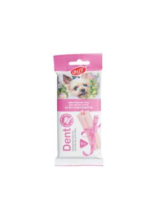 Лакомство для собак TiTBiT DENT, жевательный снек со вкусом креветок для мелких пород, 35г
