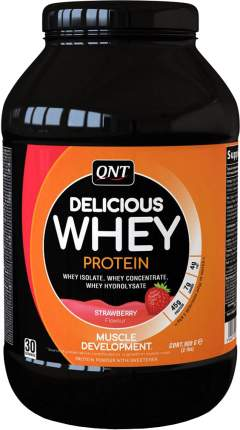 Протеин QNT Delicious Whey Protein 908 г Strawberry