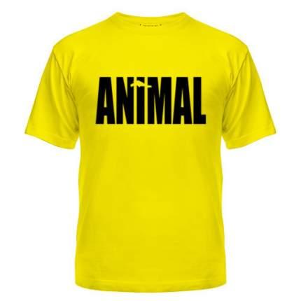 Футболка мужская Universal Nutrition Animal T-Shirt, желтая, L INT