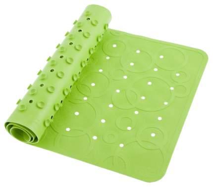 Roxy kids коврик резиновый антискользящий для ванны 35x76см салатовый