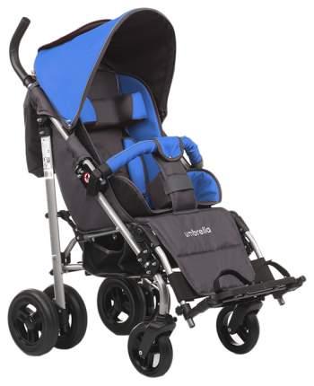 Кресло-коляска Meyra Umbrella new для детей ДЦП синий-серый цельнолитые
