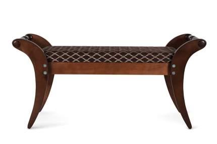 Банкетка Мебелик Тифани Темно-коричневый