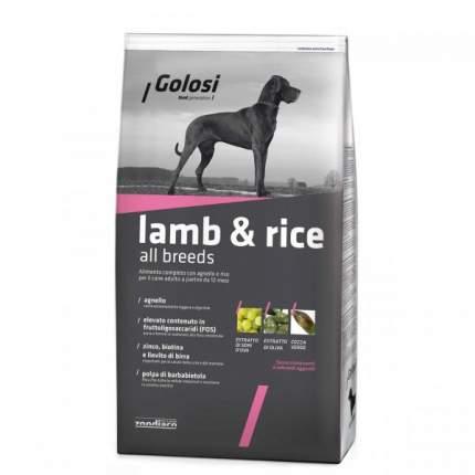 Сухой корм для собак Golosi Lamb & Rice All Breeds, ягненок, рис, 20кг
