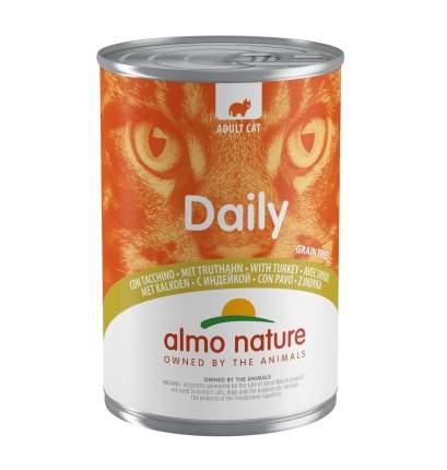 Консервы для кошек Almo Nature Daily индейка, 400г