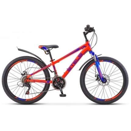 """Велосипед Stels Navigator 24 400 MD F010 2019 12"""" синий/красный"""