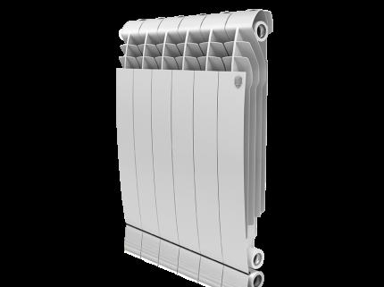 Радиатор биметаллический Royal Thermo BiLiner Bianco Traffico  574x640