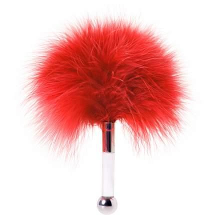Щекоталка ToyFa пуховая красный