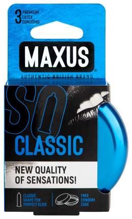 Презервативы Maxus Classic в железном кейсе классические 3 шт.