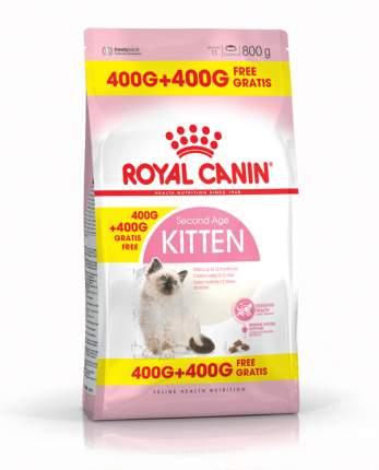 Сухой корм для котят ROYAL CANIN Kitten, домашняя птица, 0,8кг