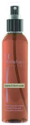 Ароматическое средство Millefiori Milano Incense & Blond Woods 150 мл